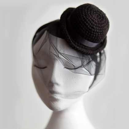 mini bowler hat
